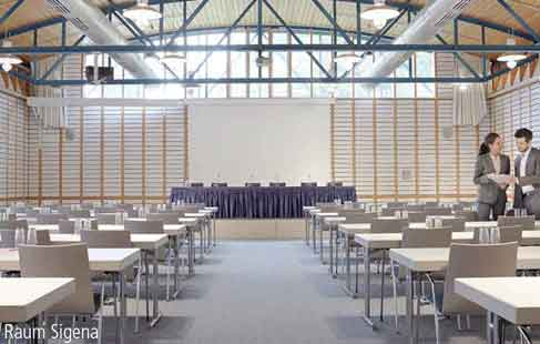 Image: Meeting room for large groups - Sigena holds 230 people